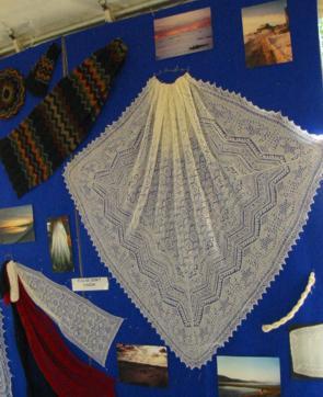Shetland Lace sampler