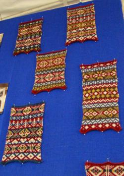Fair Isle samples